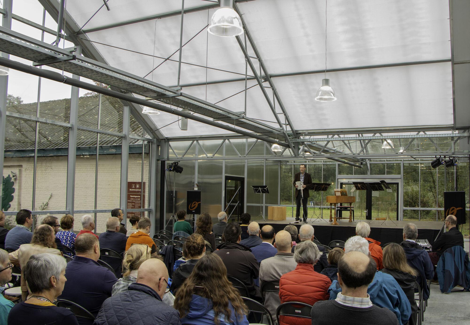 20191013 Officiële opening vernieuwd bosinfocentrum Het Leen Eeklo