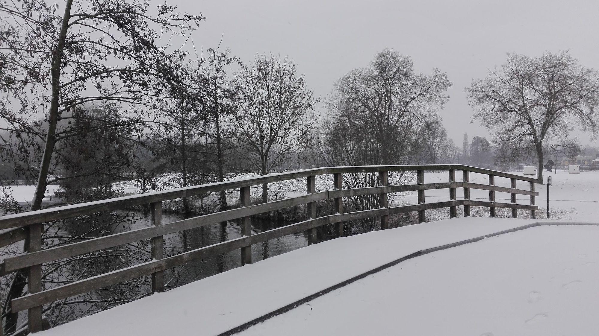 20190122 Puyenbroeck in de sneeuw