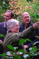 Bezoek ICS aan het arboretum