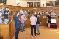 20200902 Gouverneur Carina Van Cauter ontvangst provincieraad 07.jpg