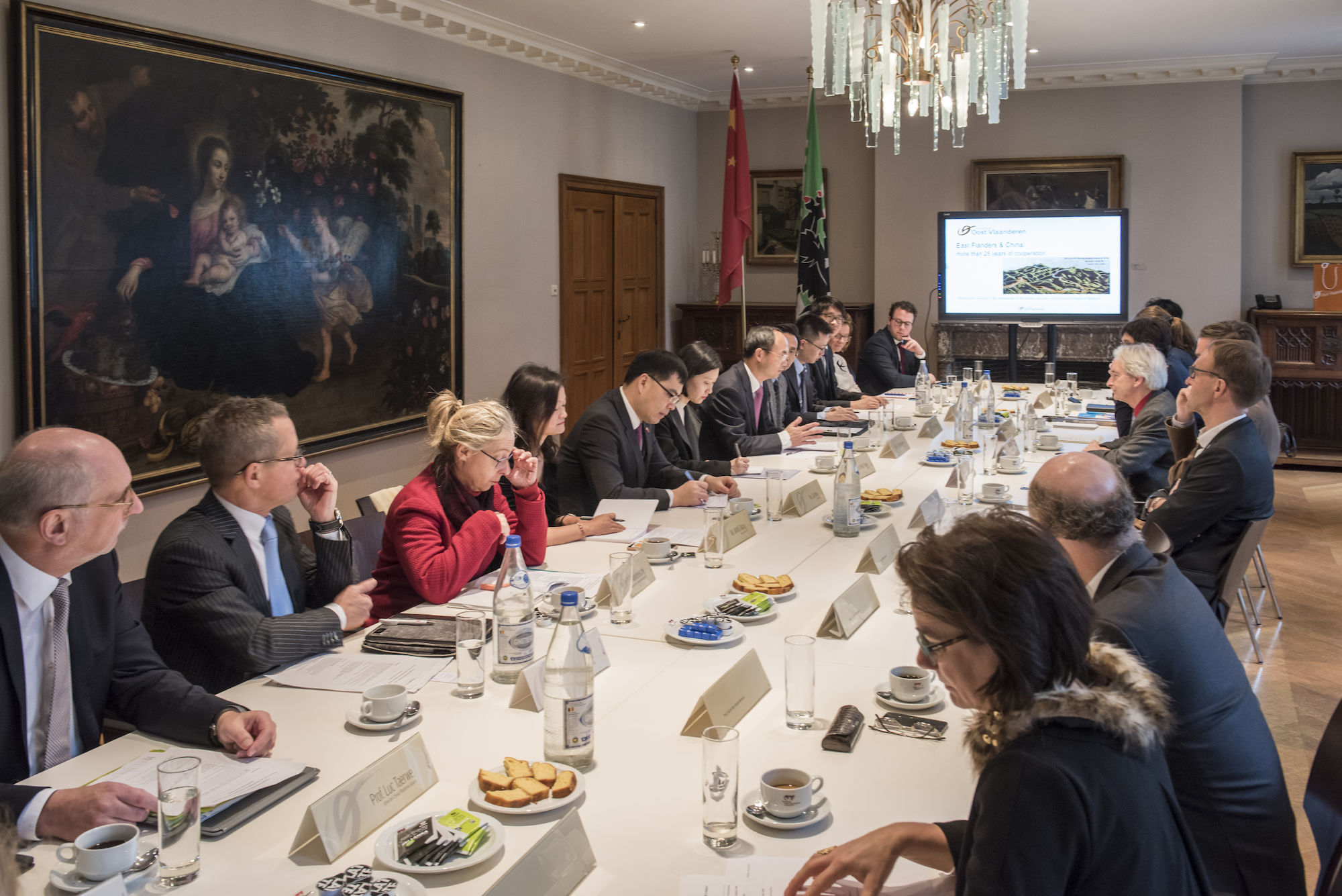 20190114 Strategic Partnership East Flanders - China Visit of H.E. Mr. Mr. CAO Zhongming, Ambassador of the PRC in Belgium